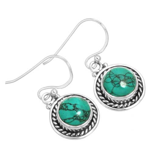 wholesale Wholesale Sterling Silver Gemstone Earrings (34332_E)