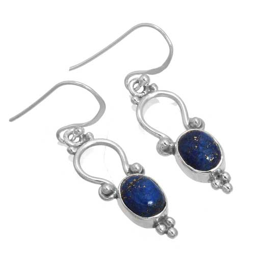 wholesale Wholesale Sterling Silver Gemstone Earrings (34349_E)