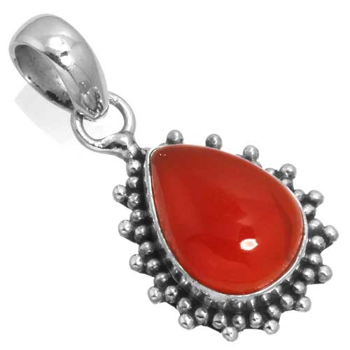 wholesale Wholesale Sterling Silver Gemstone Pendant (34962_P)