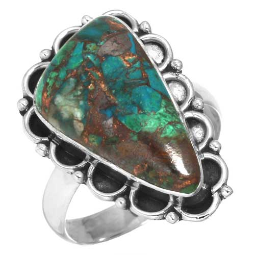 wholesale Wholesale Sterling Silver Gemstone Ring (35403_R9.5)