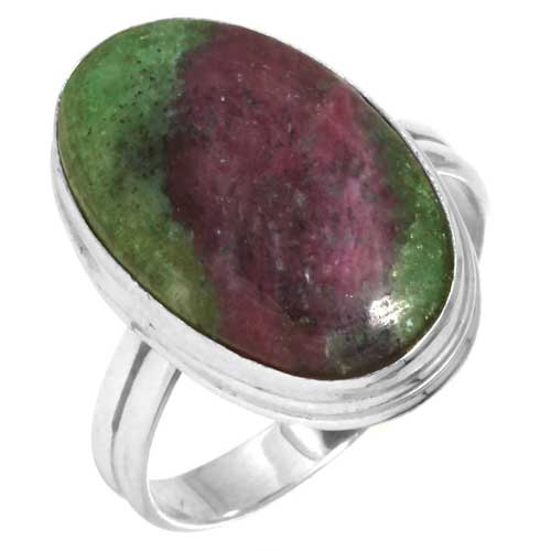 wholesale Wholesale Sterling Silver Gemstone Ring (36320_R10)