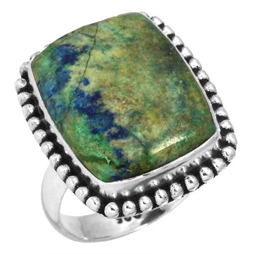 wholesale Wholesale Sterling Silver Gemstone Ring (37273_R5)