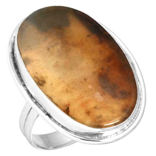 wholesale Wholesale Sterling Silver Gemstone Ring (38506_R9)