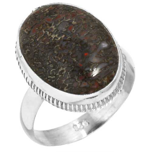 wholesale Wholesale Sterling Silver Gemstone Ring (38846_R8)