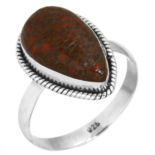 wholesale Wholesale Sterling Silver Gemstone Ring (38860_R12)