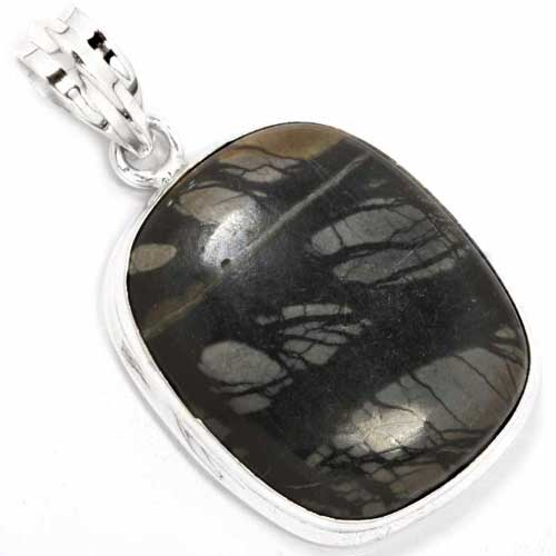 Sterling Silver Gemstone Pendant (3918)