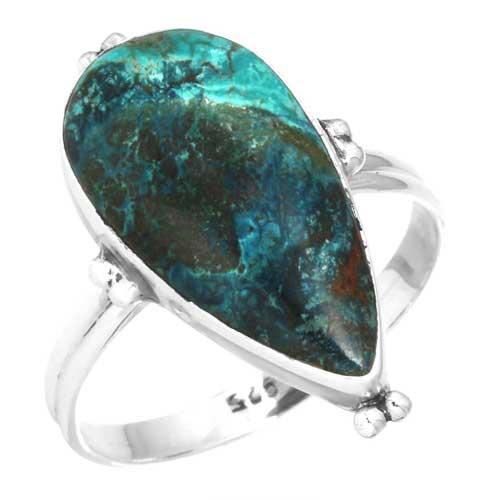 wholesale Wholesale Sterling Silver Gemstone Ring (39394_R12)