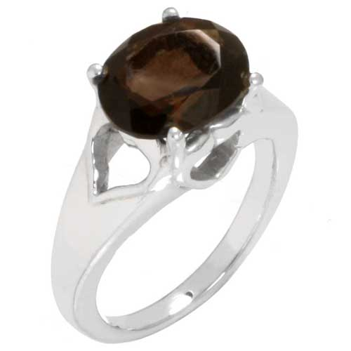 Sterling Silver Gemstone Ring (4622_7)