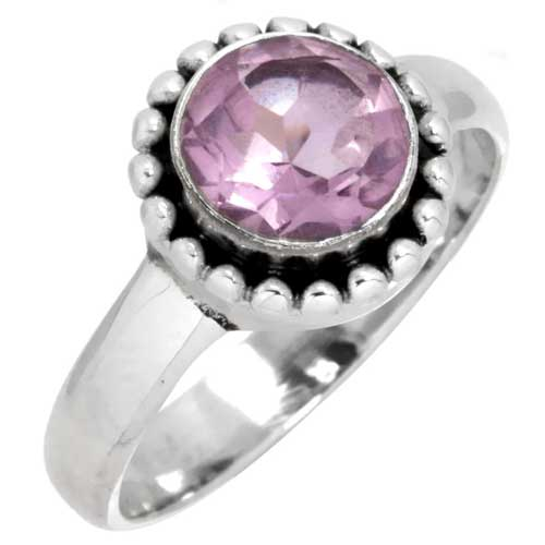 wholesale Wholesale Sterling Silver Gemstone Ring (5355_9)