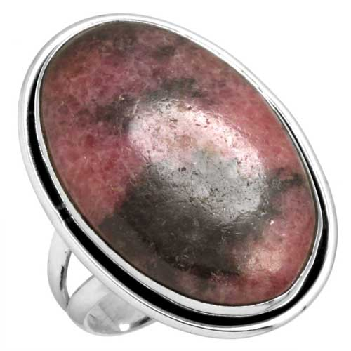 Sterling Silver Gemstone Ring (5543_8)