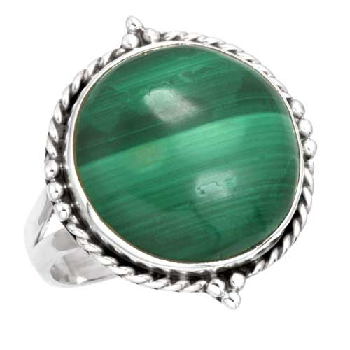 wholesale Wholesale Sterling Silver Gemstone Ring (6128_8.5)