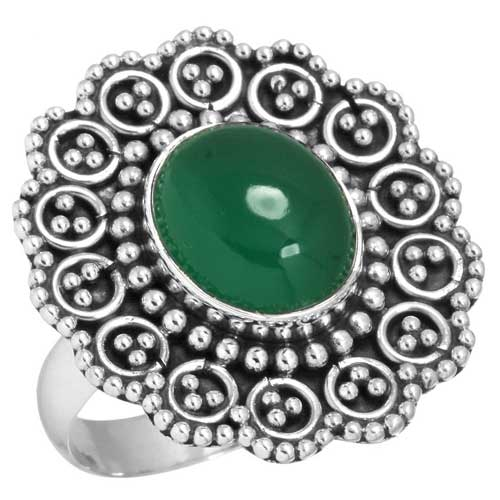 Wholesale Sterling Silver Gemstone Ring (6425_9)