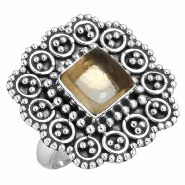 Sterling Silver Gemstone Ring (6427_6)