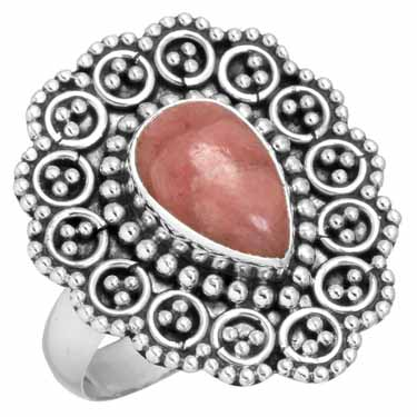 Sterling Silver Gemstone Ring (6429_10)