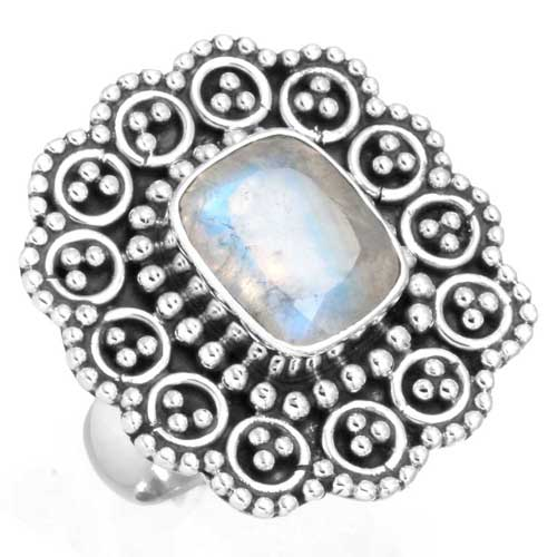 wholesale Wholesale Sterling Silver Gemstone Ring (6430_6)
