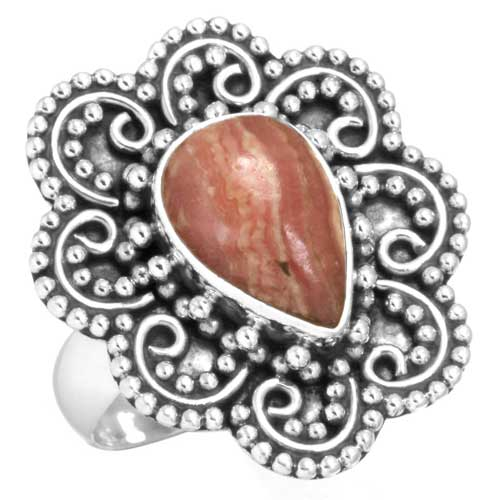 wholesale Wholesale Sterling Silver Gemstone Ring (6575_7)