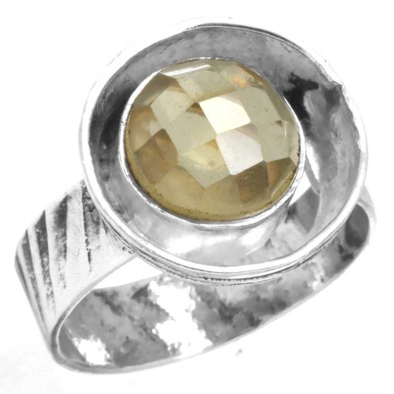 Sterling Silver Gemstone Ring (6678_10)