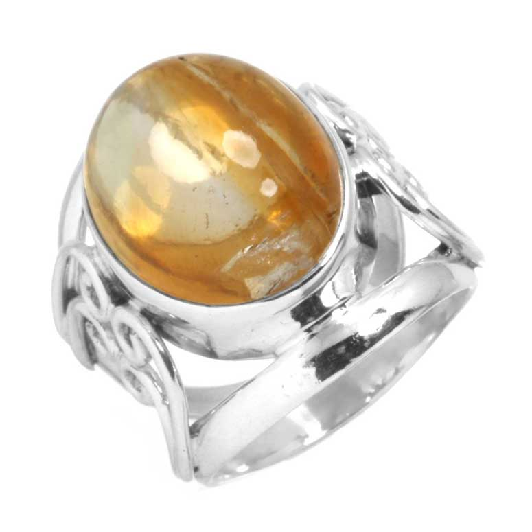 Sterling Silver Gemstone Ring (6968_7)