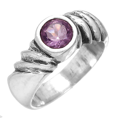 wholesale Wholesale Sterling Silver Gemstone Ring (7190_8)