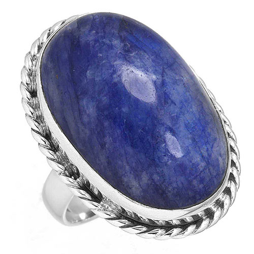 wholesale Wholesale Sterling Silver Gemstone Ring (7287_6)