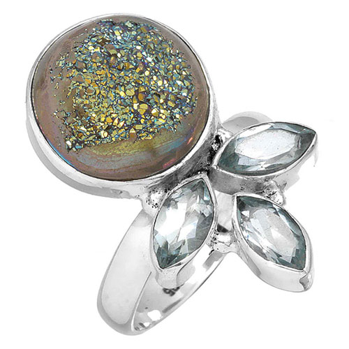 wholesale Wholesale Sterling Silver Gemstone Ring (7335_9)
