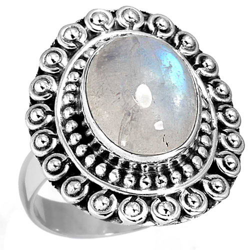 wholesale Wholesale Sterling Silver Gemstone Ring (7586_7)