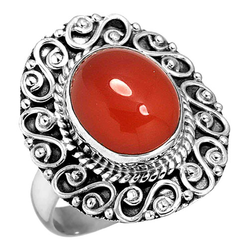 Sterling Silver Gemstone Ring (7632_7)