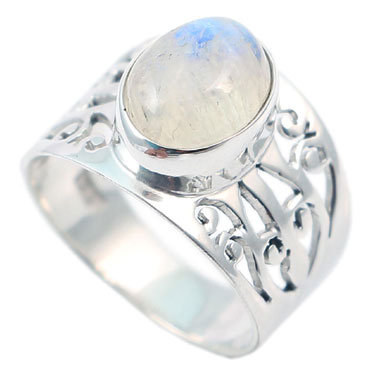 wholesale Wholesale Sterling Silver Gemstone Ring (R003RB_6)
