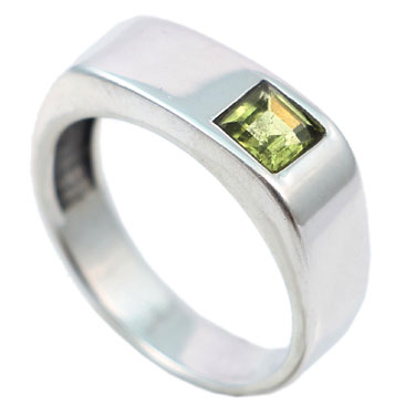 wholesale Wholesale Sterling Silver Gemstone Ring (R005PRI_6)