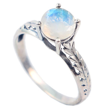 wholesale Wholesale Sterling Silver Gemstone Ring (R009RB_7)