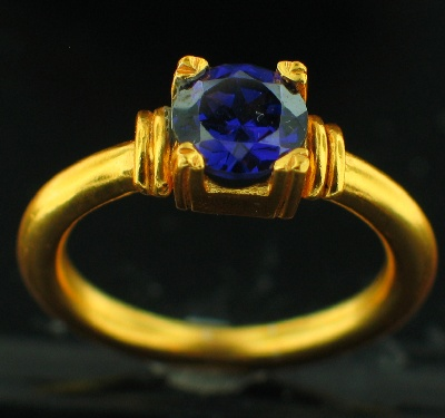 24k Gold Plated Ring (RG252P_10)