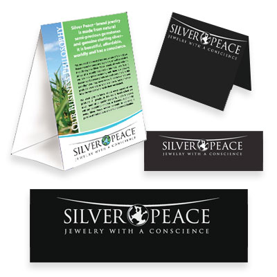 wholesale Silver Peace Marketing Starter Kit (SP_Kit01)