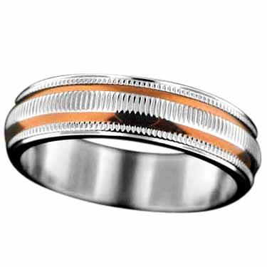 Sterling silver Stainless Steel Ring StainlessSteelRing ID=SRG010