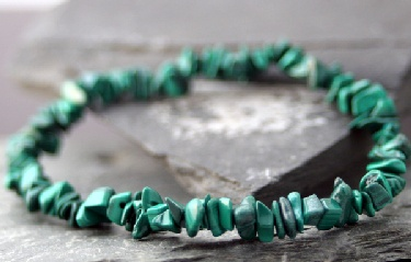wholesale Malachite Chip Bracelet (ba_malachite)