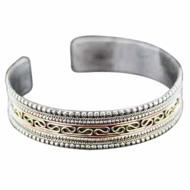 Sterling silver Copper Bracelet CopperBracelet ID=bc328