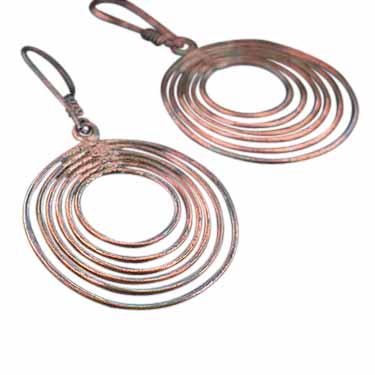 Sterling silver 100% Copper CopperJewelry ID=copper_ear09