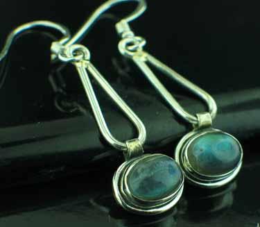 Sterling silver Labradorite (5x8mm) Earring ID=ee601lb