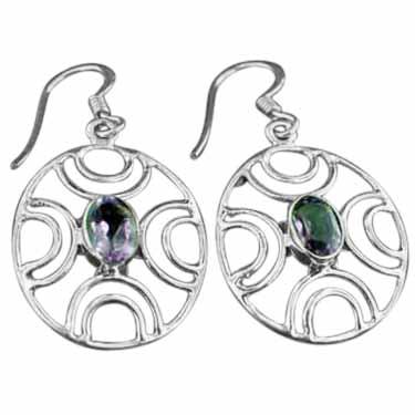 Sterling silver Amethyst (2ctw) Earring ID=ee617amef