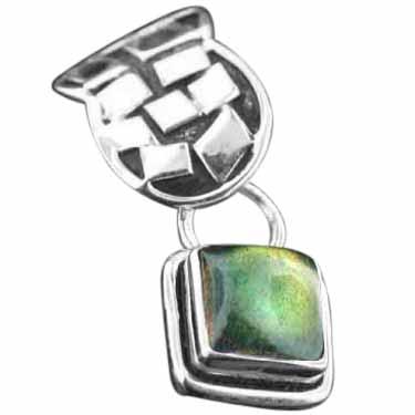 Sterling silver Labradorite Pendant ID=pn442lb