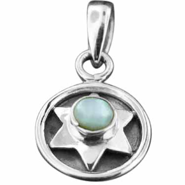 Sterling silver Mother of Pearl Pendant ID=pn91mp