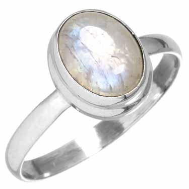 wholesale Sterling Silver Gemstone Ring (rg270rm_8)