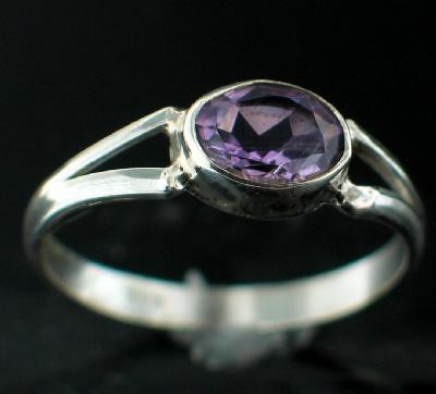Sterling silver Amethyst (3ctw) Ring ID=rg699amef