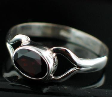 Sterling silver Garnet (3 ctw) Ring ID=rg699grf