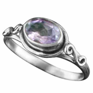 Sterling silver Amethyst (2ctw) Ring ID=rg705amef_ov
