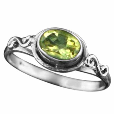 wholesale Sterling Silver Gemstone Ring (rg705ctf_8)