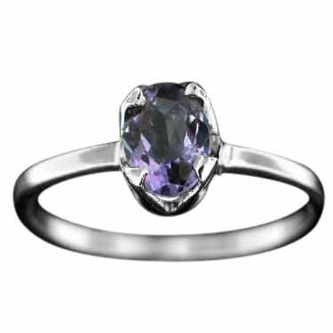Sterling silver Amethyst (3ctw) Ring ID=rg707amef