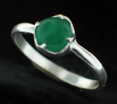 Sterling silver Peridot (2ctw) Ring ID=rg707jd