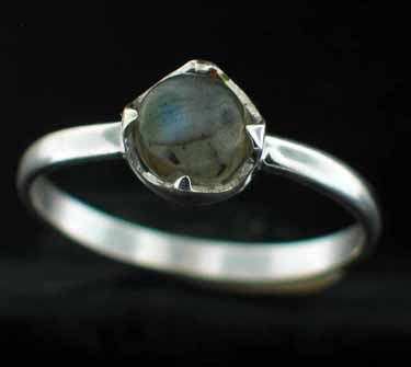 Sterling silver Peridot (2ctw) Ring ID=rg707lb_rd