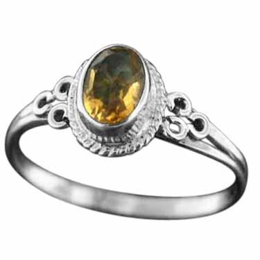 Sterling silver Citrine (2ctw) Ring ID=rg803ctf