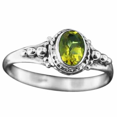 wholesale Sterling Silver Gemstone Ring (rg806ctf)